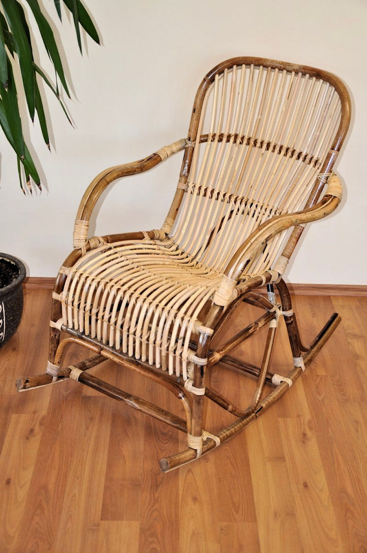 rattan schaukelstuhl rocking chair fb natur rattan xxl. Black Bedroom Furniture Sets. Home Design Ideas