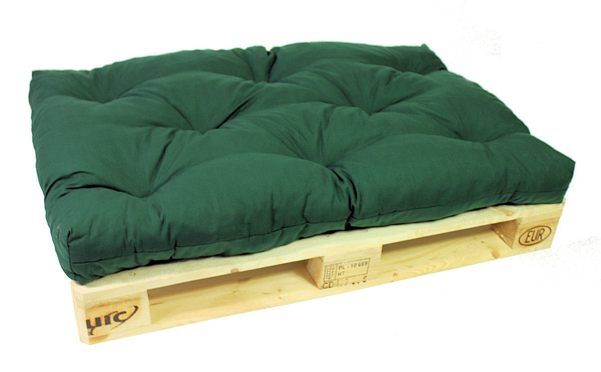 palettenpolster palettenkissen 120x80x15 d gr n rattan xxl. Black Bedroom Furniture Sets. Home Design Ideas