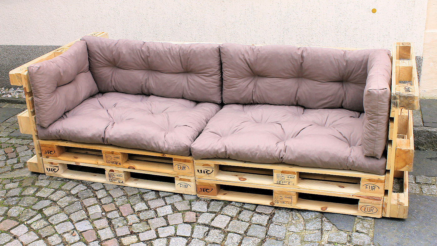 polster f r palettensofa europalette palettenpolster rattan xxl. Black Bedroom Furniture Sets. Home Design Ideas