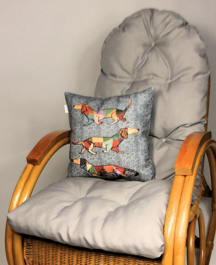 set polster kissen f r schaukelstuhl rattan xxl. Black Bedroom Furniture Sets. Home Design Ideas