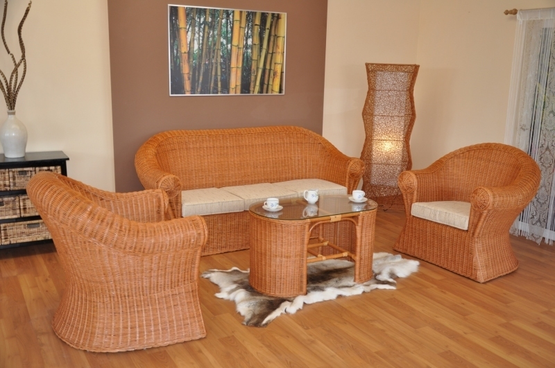 rattan wohnlandschaften rattan xxl. Black Bedroom Furniture Sets. Home Design Ideas