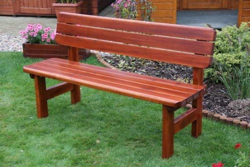 massivholz gartenbank rovna kiefer b 150 cm rattan xxl. Black Bedroom Furniture Sets. Home Design Ideas