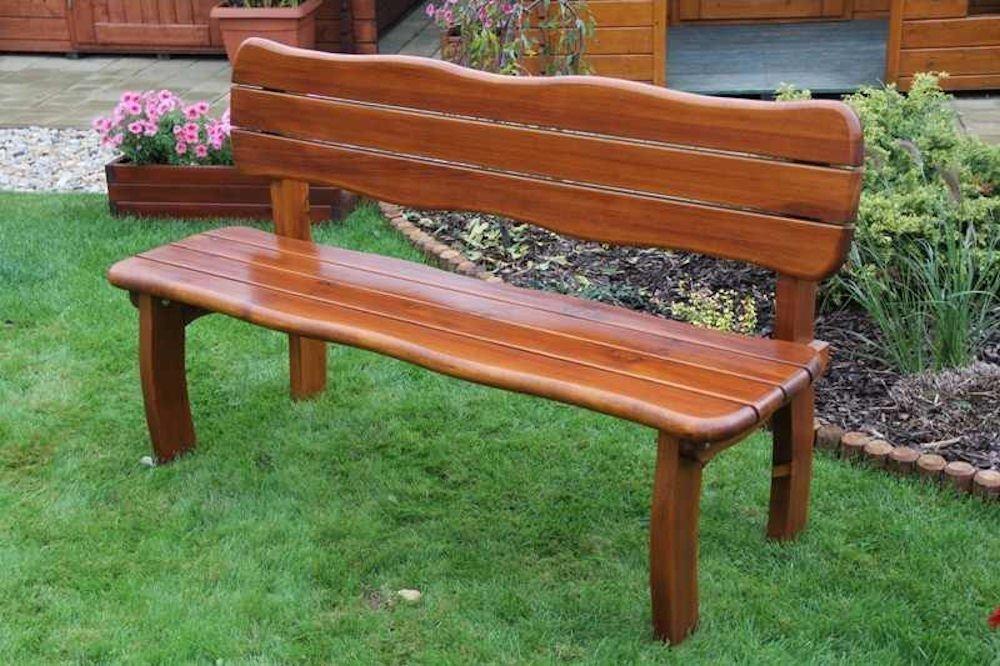 massivholz gartenbank lorit kiefer rattan xxl. Black Bedroom Furniture Sets. Home Design Ideas