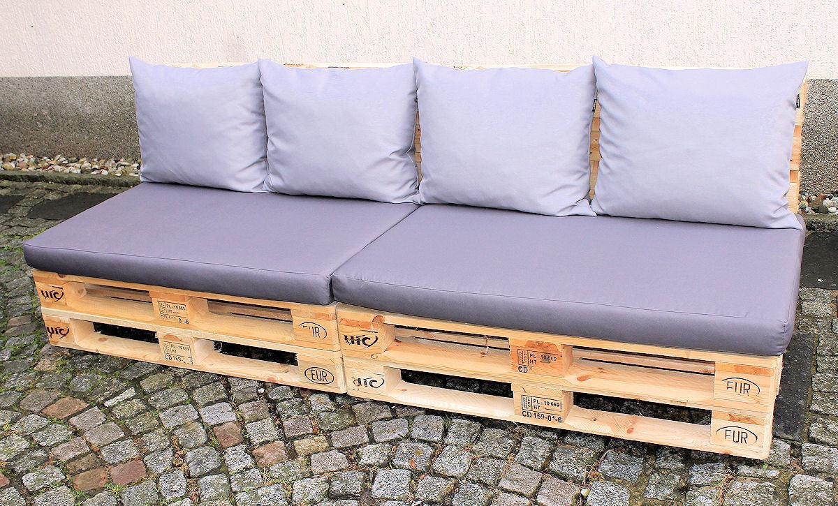 palettanpolster polster f r europaletten rattan xxl. Black Bedroom Furniture Sets. Home Design Ideas