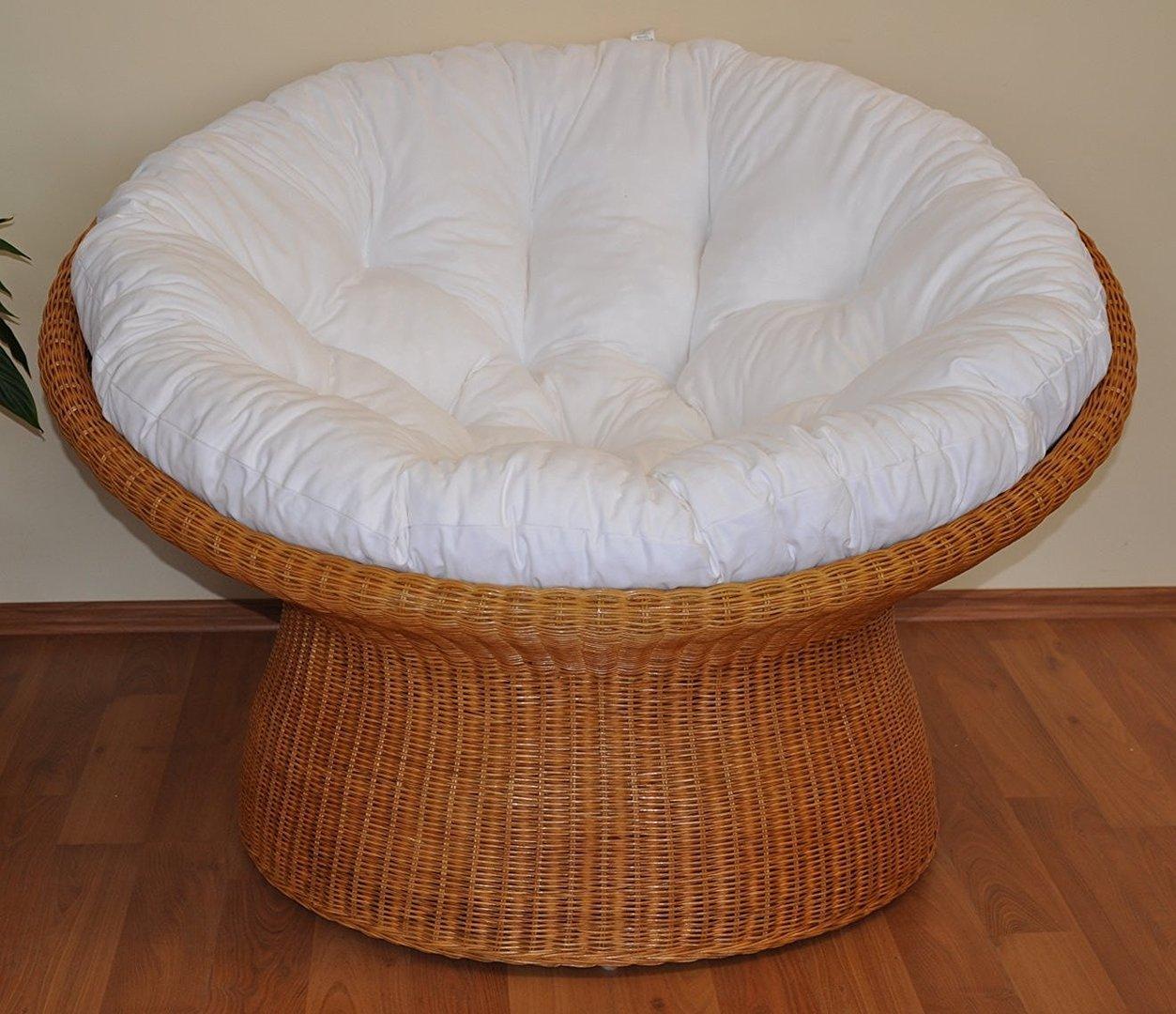 rattan papasan sessel dichtgeflochten fb honig rattan xxl. Black Bedroom Furniture Sets. Home Design Ideas
