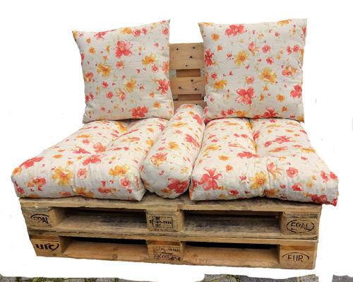 palettenpolster kissen f r europaletten rattan xxl. Black Bedroom Furniture Sets. Home Design Ideas